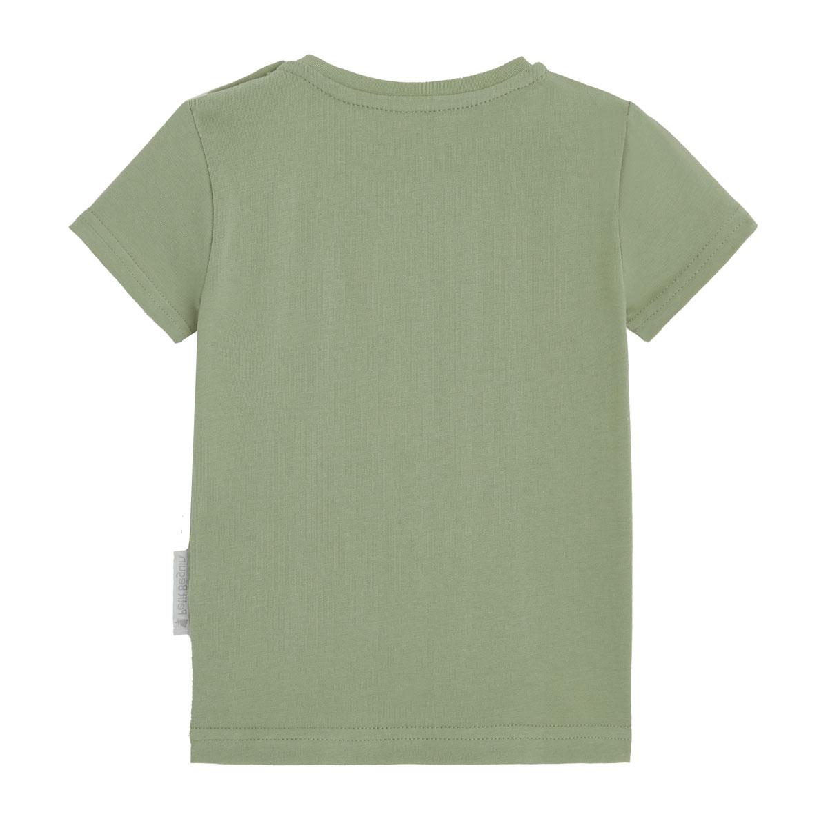 T-shirt manches courtes mixte vert dos
