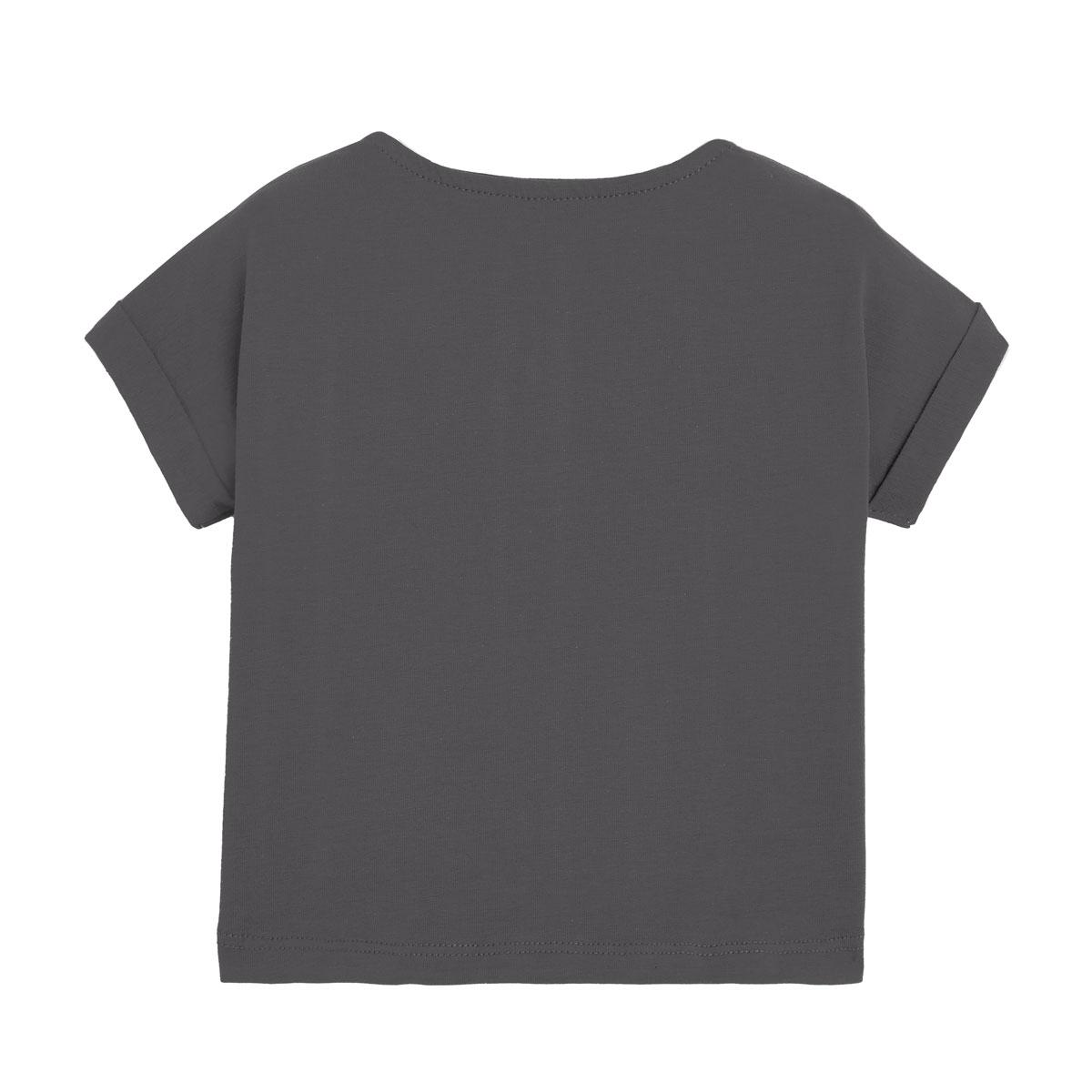 Salopette bébé garçon et t-shirt contenant du coton bio Wild Safari dos