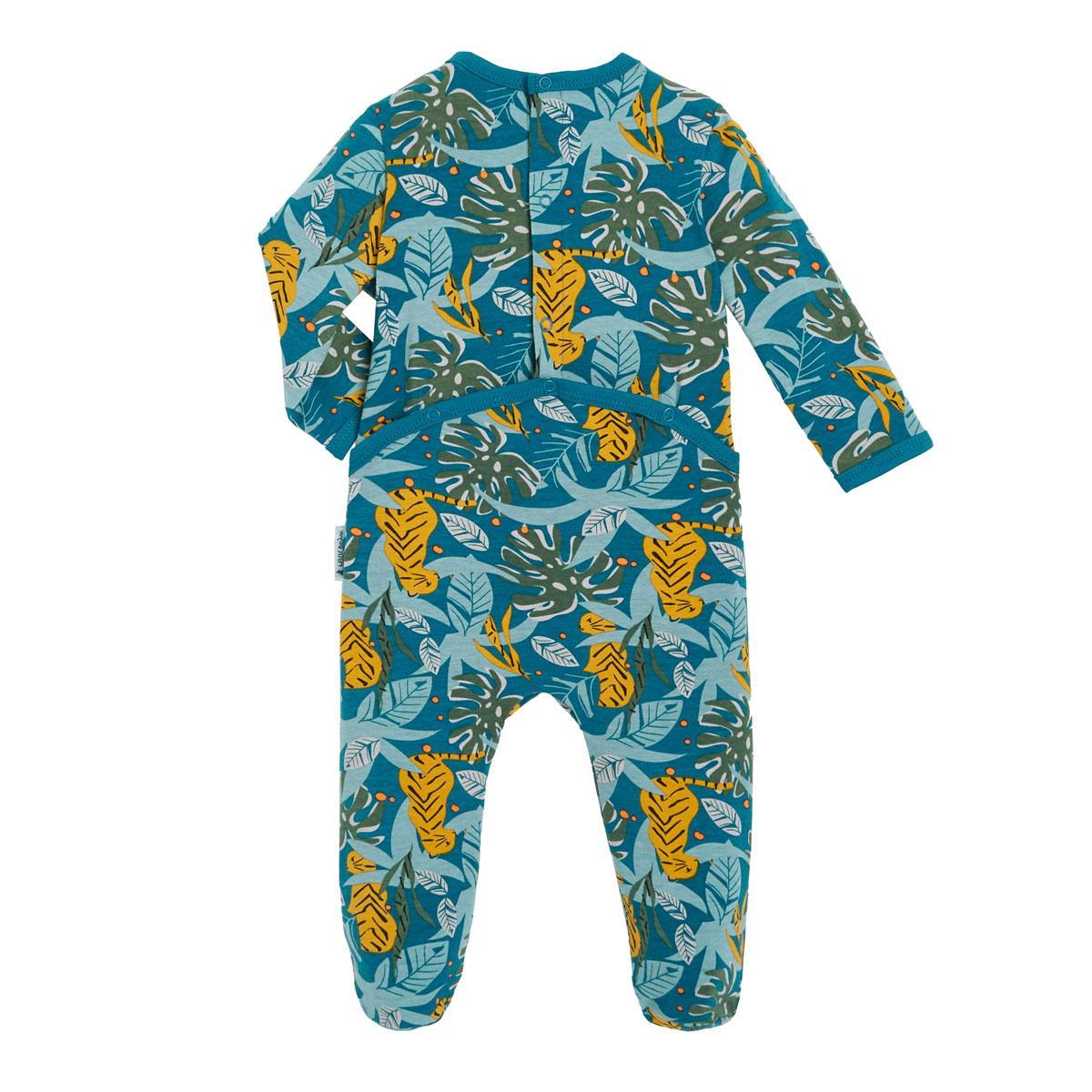 Pyjama bébé contenant du coton bio Malawi dos