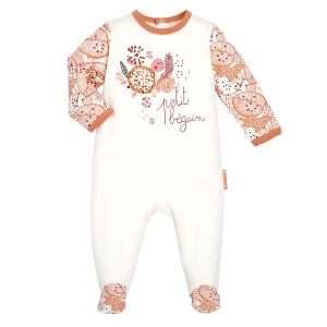 Pyjama bébé contenant du coton bio Kaiko