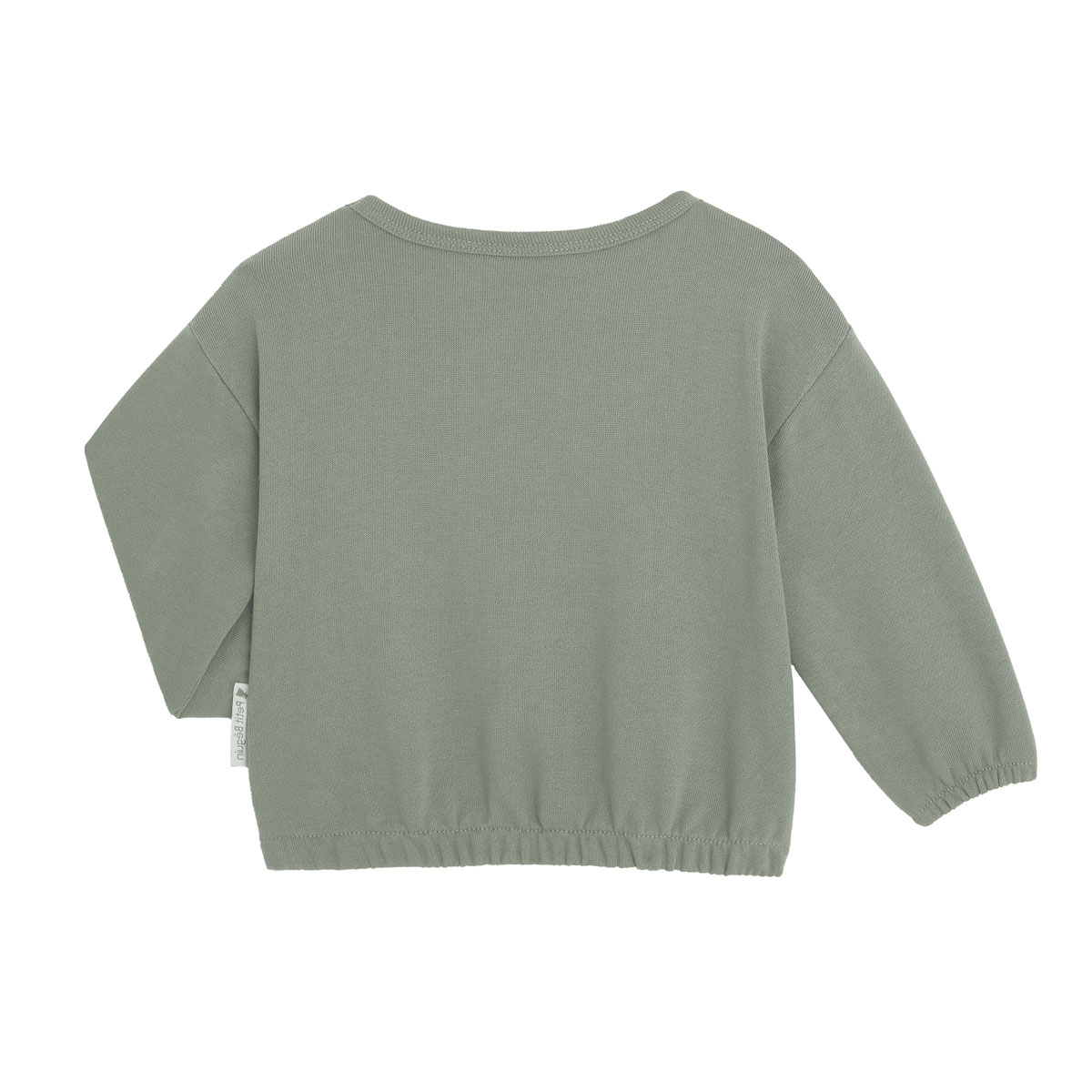 Sweat-shirt fille contenant du coton gratté bio Crazy Colibri dos