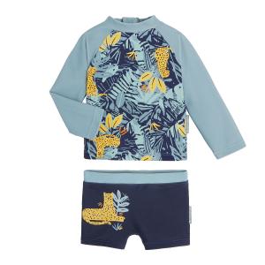 Maillot de bain garçon ANTI-UV 2 pièces t-shirt & boxer Lilio