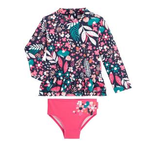 Maillot de bain ANTI-UV fille 2 pièces t-shirt & culotte Emma