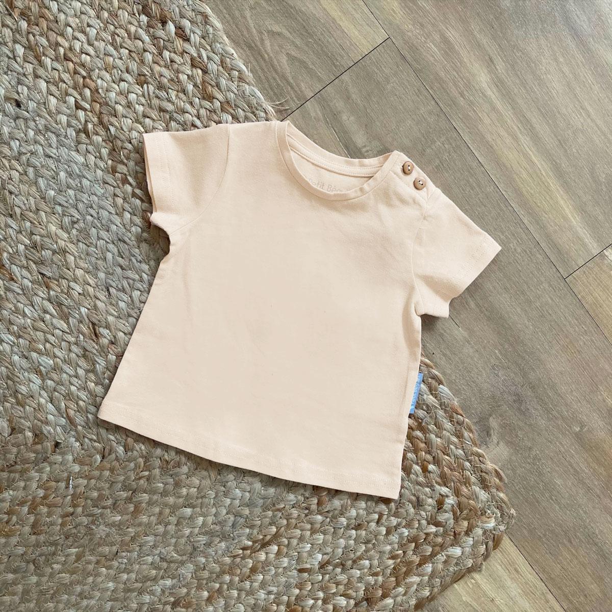 T-shirt manches courtes mixte zoom