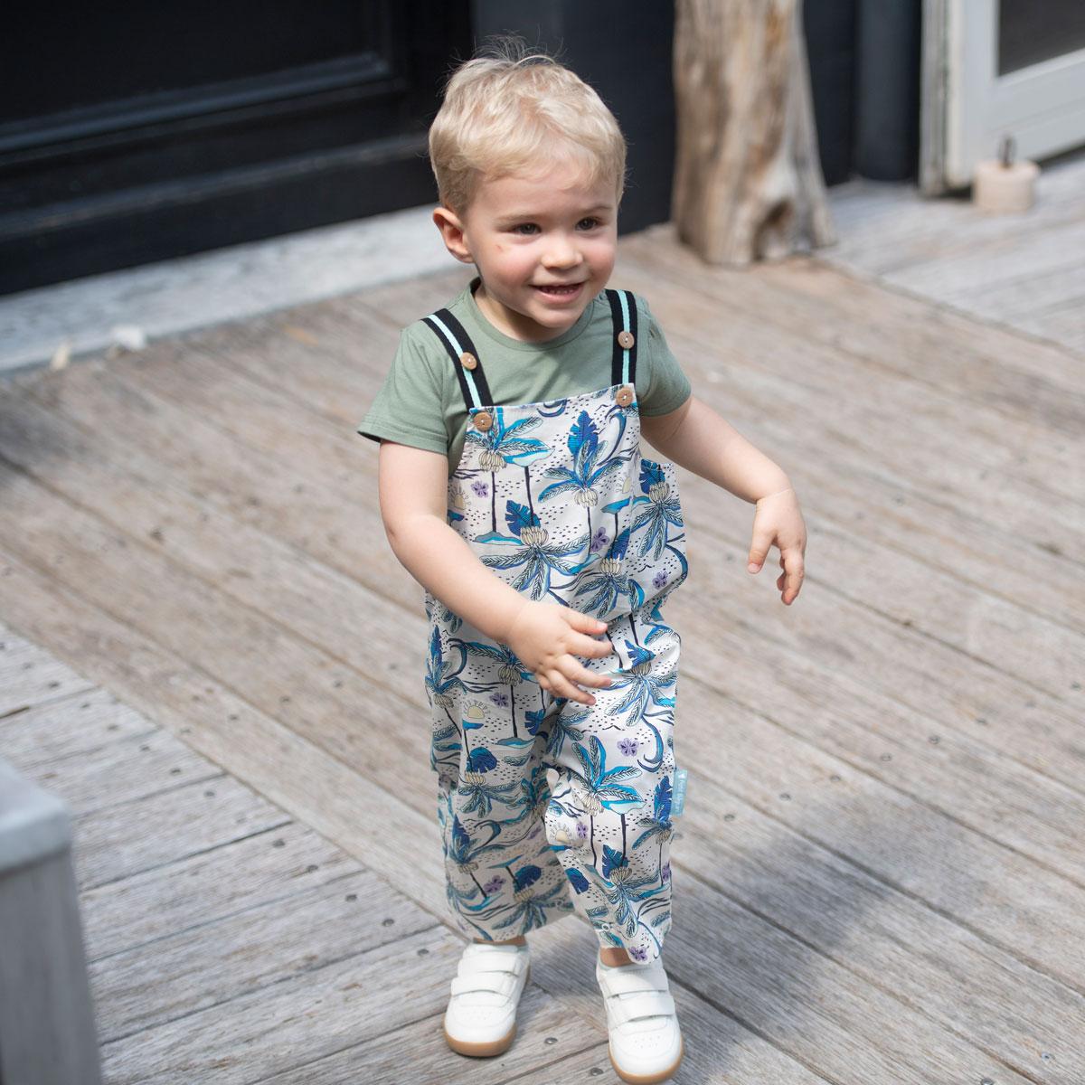 Salopette bébé garçon Makao porté face