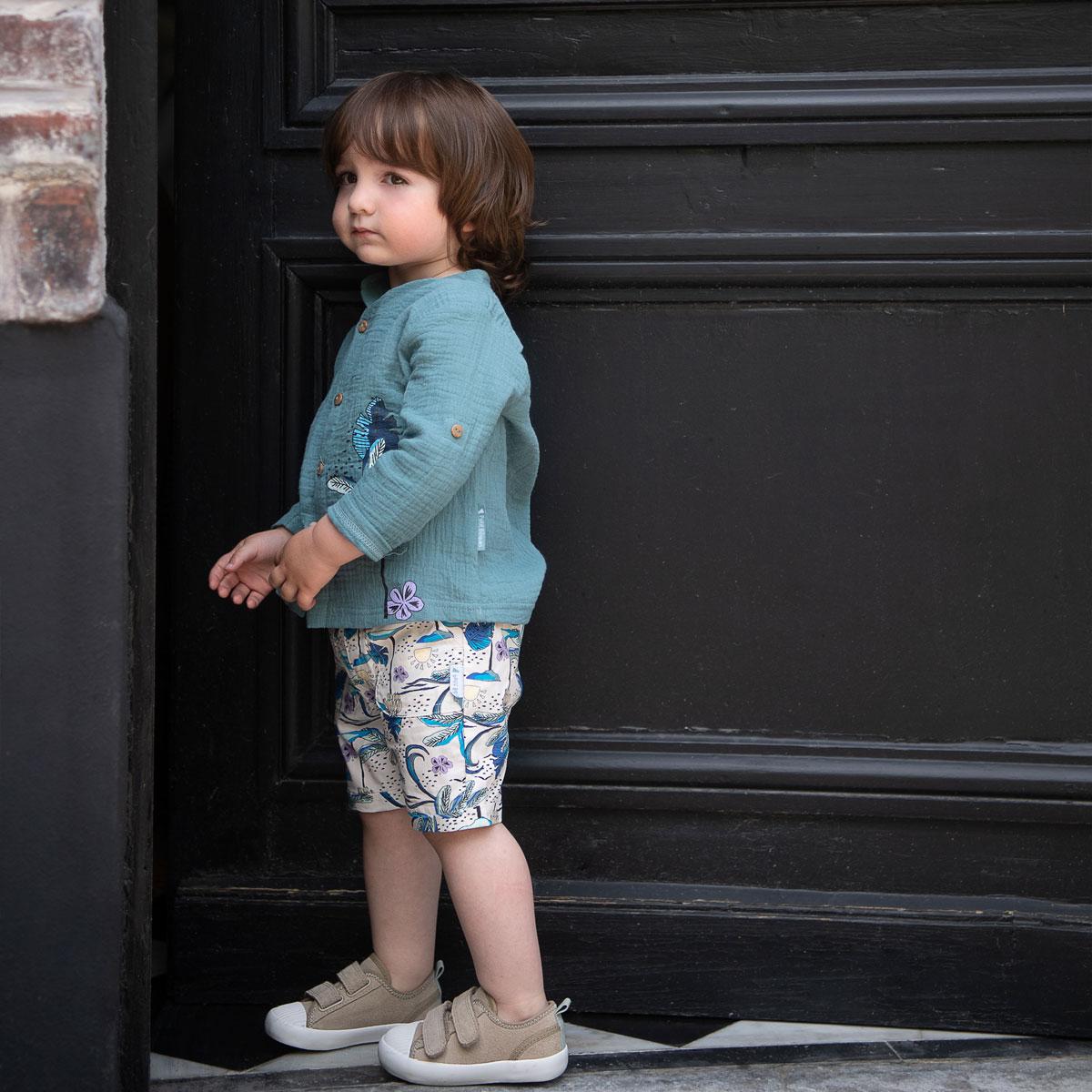 Chemise garçon Makao porté