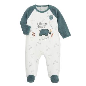 Pyjama bébé velours En Trottinette