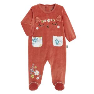 Pyjama bébé velours Coquette