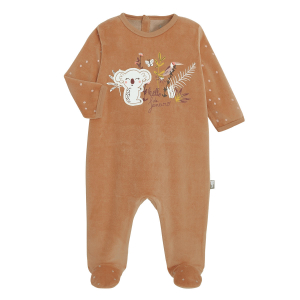 Pyjama bébé velours Janeiro
