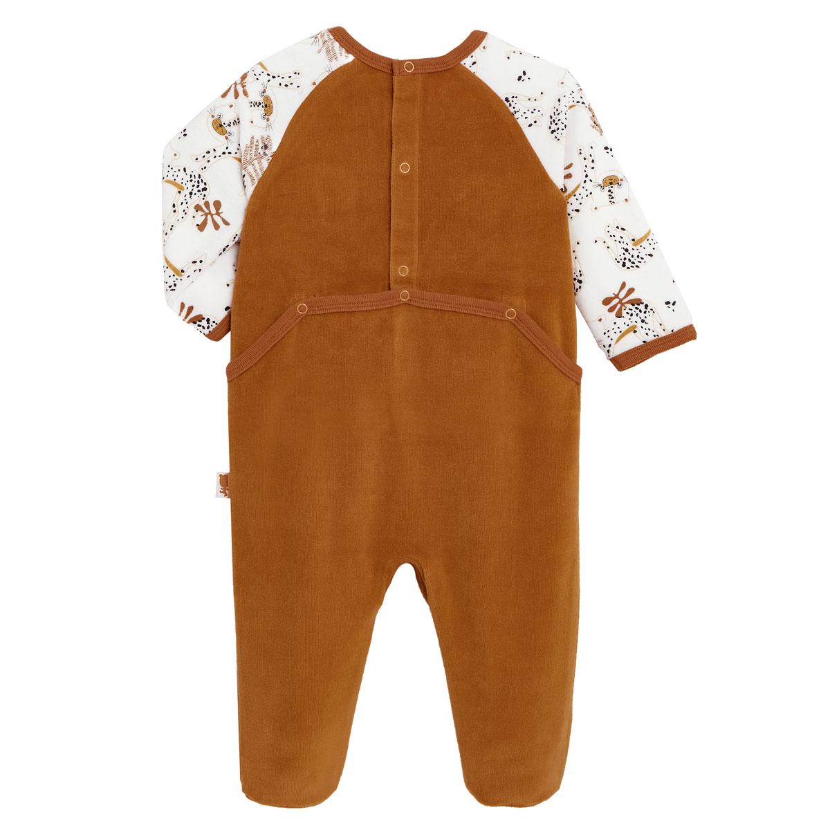 Pyjama bébé en velours Benghali dos