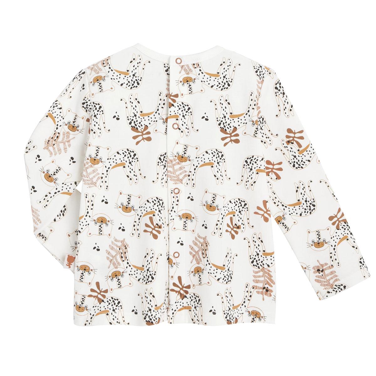 T-shirt et salopette garçon en coton gratté Benghali dos