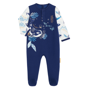Pyjama bébé en molleton contenant du coton bio The Magic Night