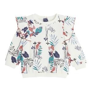 Sweat-shirt fille contenant du coton bio Trinidad