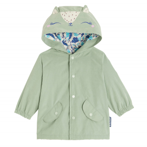 Coupe-vent fille Polka