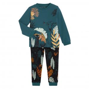 Pyjama garçon manches longues en coton bio Maelo