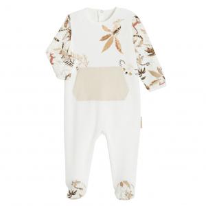 Pyjama bébé en velours contenant du coton bio Acapulco