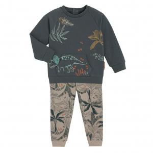 Pyjama garçon manches longues contenant du coton bio Moha