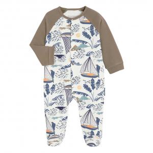 Pyjama bébé contenant du coton gratté bio Pygmé