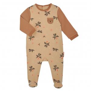 Pyjama bébé en molleton contenant du coton bio Bogota