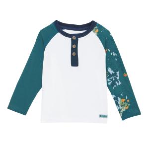 T-shirt garçon manches longues contenant du coton bio Patagonia