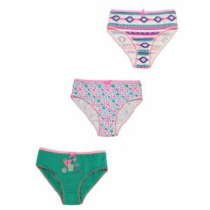 Lot de 3 culottes fille Great Exotic