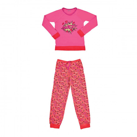 Pyjama fille manches longues Boomy