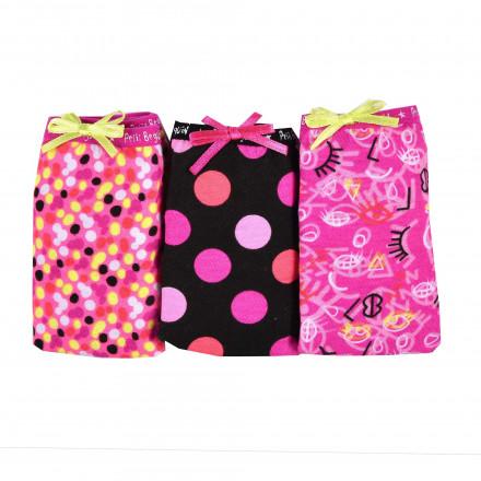 Pocket de 3 slips fille Balka