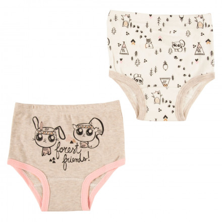 Lot de 2 culottes bébé fille Forest Friend