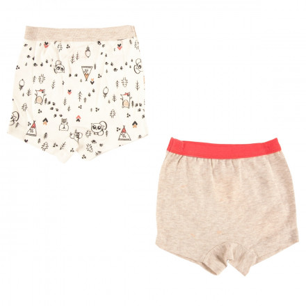 Lot de 2 boxers bébé garçon Forest Friend
