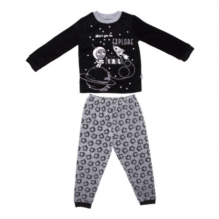 Pyjama garçon manches longues Cosmos
