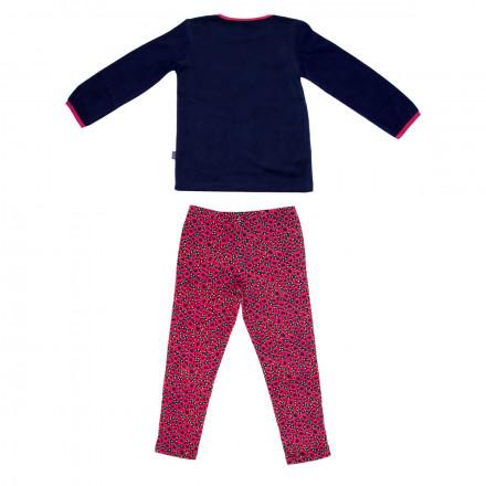 Pyjama fille manches longues City Garden