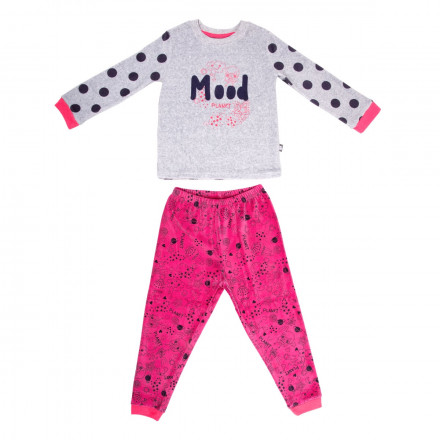 Pyjama fille manches longues Mood