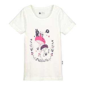 Tee shirt fille manches courtes Magic