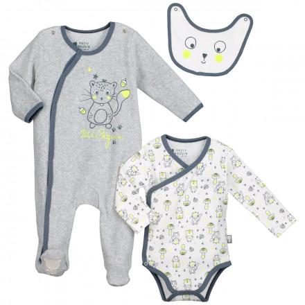 Kit naissance bébé garçon Petite Forêt