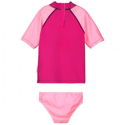 Maillot de bain ANTI-UV 2 pièces t-shirt & slip fille Sirène