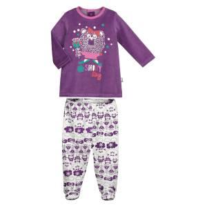 Pyjama bébé fille Snowyday avec pieds