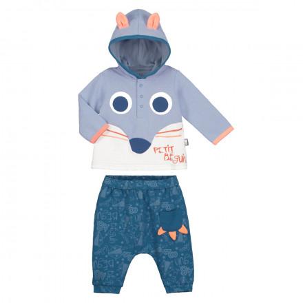 Ensemble bébé garçon t-shirt + sarouel Funny Fox