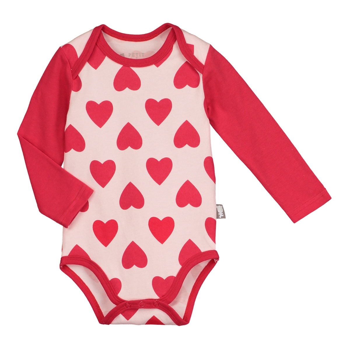 Lot de 2 bodies manches longues bébé fille Minilove- PETIT BEGUIN 7d1fc1713c7
