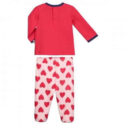 Pyjama bébé fille Minilove avec pieds