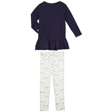 Pyjama fille manches longues Vœu
