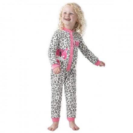 Pyjama fille manches longues Savana