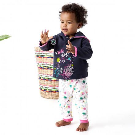 Ensemble bébé fille t-shirt + sarouel Jolie Hipo