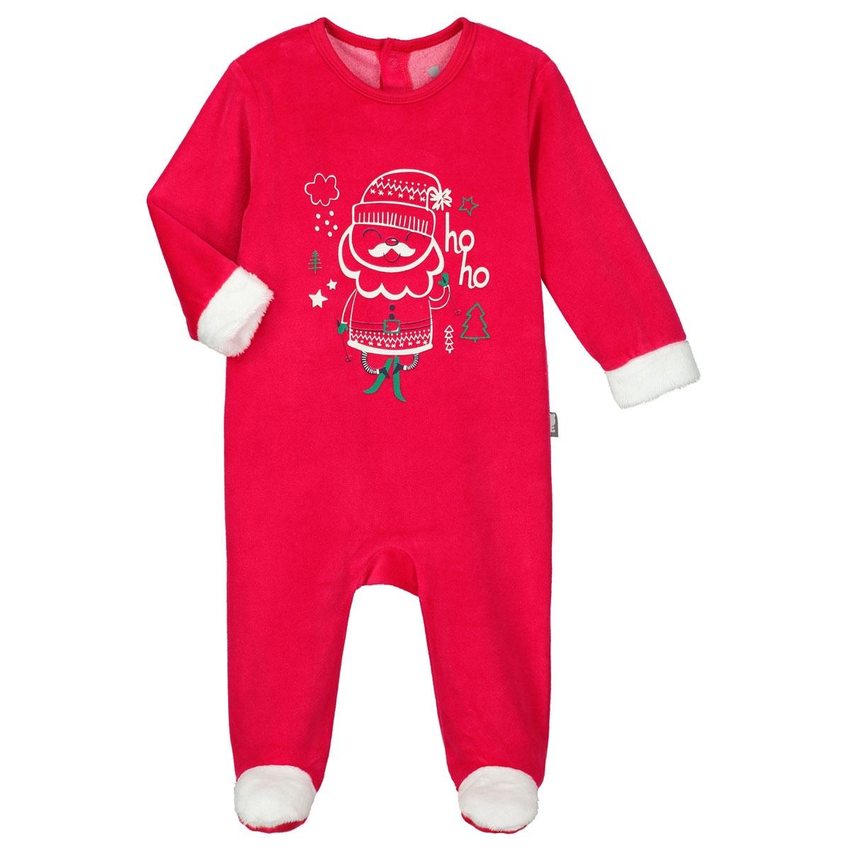 85eaaed950fc5 Pyjama bébé velours Hoho - PETIT BEGUIN