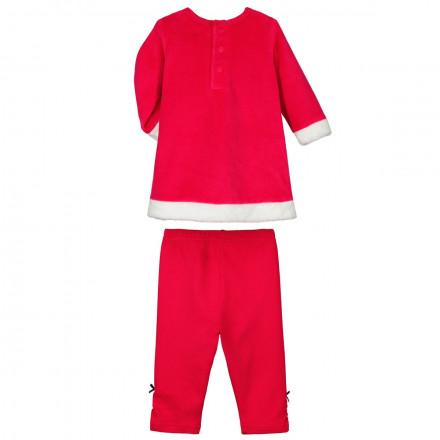 Pyjama bébé fille Robe + Legging Ho Ho