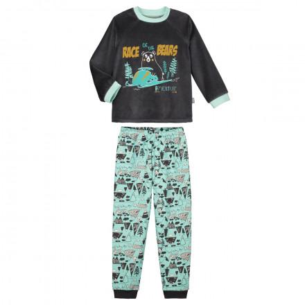 Pyjama garçon manches longues Snowrace