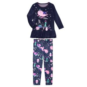 4a1c2dbc0931f Pyjama fille manches longues Fairykitten