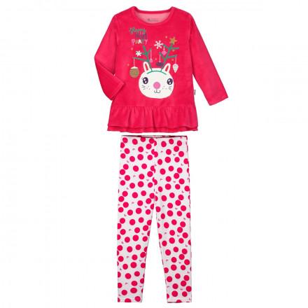 Pyjama fille manches longues Happy Noël