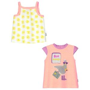 Top + Tee shirt bébé fille Riviera Girl