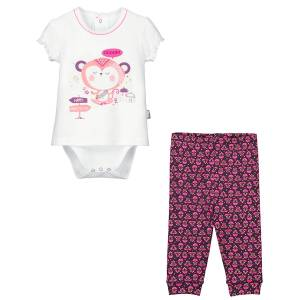 Ensemble bébé fille Body tunique + Legging Namaste