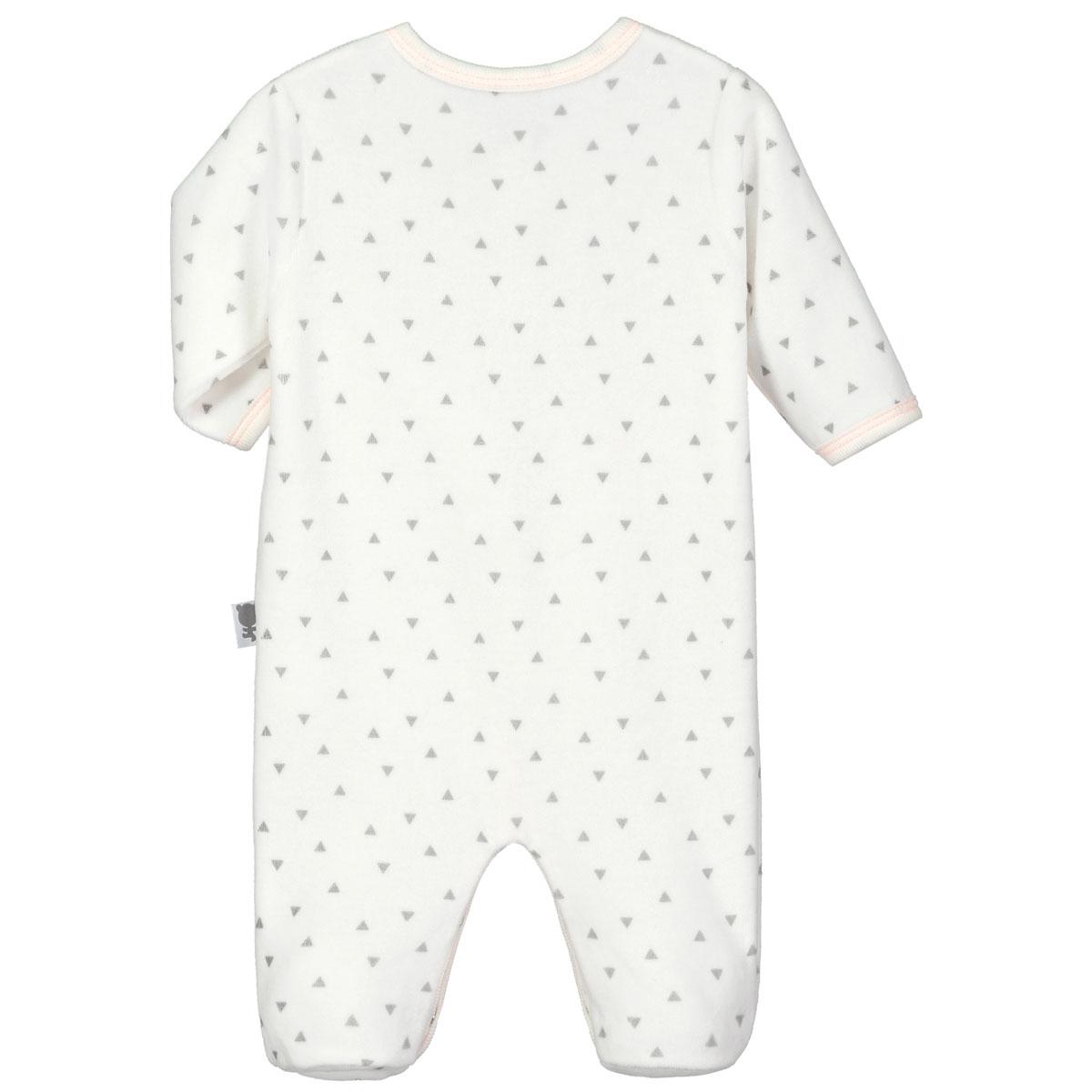 Pyjama bébé velours Hello